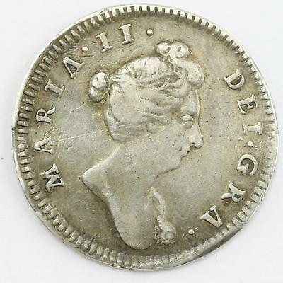 William III & Mary Undated Pattern Farthing Silver Medalet