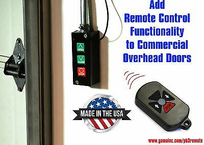 RF Remote Control System for Commercial Overhead Doors PB3-DRC