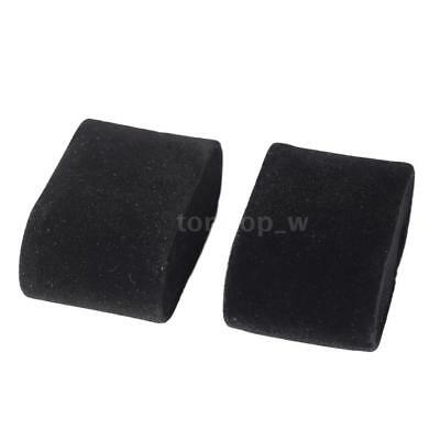 Set of 2 Velvet or PU Leather Watch Bracelet Pillows for Case Box Display Z5Q9