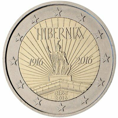 """2016 Ireland 2 Euro Uncirculated Coin """"1916 Easter Rising 100 Years"""""""