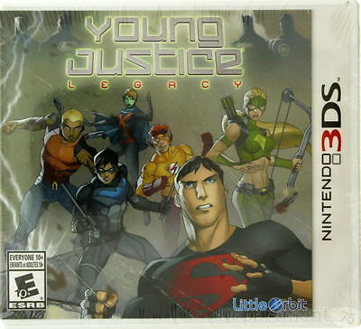 Nintendo 3DS Young Justic Legacy Game EXCELLENT CONDITION SHIPS NEXT DAY