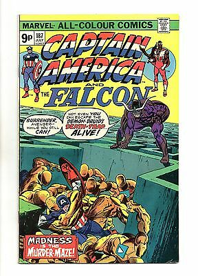 Captain America Vol 1 No 187 Jul 1975 (VFN+ to NM-) Bronze Age (1970 - 1979)