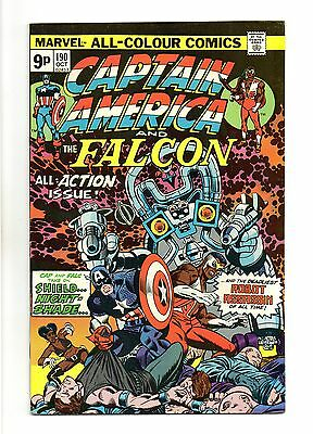 Captain America Vol 1 No 190 Oct 1975 (VFN+ to NM-) Bronze Age (1970 - 1979)
