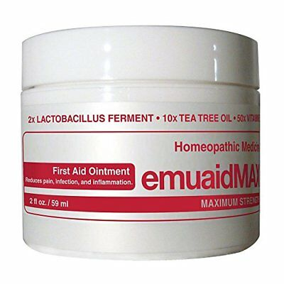 NEW Emuaid MAX First Aid Ointment 2 Ounce FREE SHIPPING
