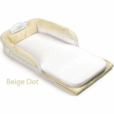 NEW Snuggle Nest Portable Infant Sleeper Beige FREE SHIPPING