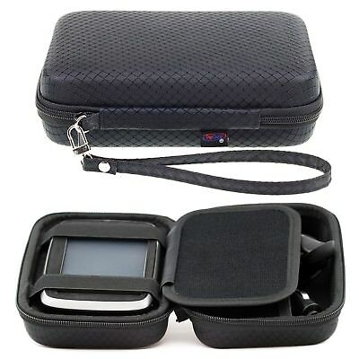 Black Hard Carry Case For TomTom Go Essential 5 Inch Premium Go 51 5'' Sat Nav