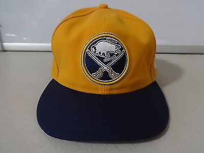 90f731b0f95 VINTAGE NEW ERA 59 50 NHL Buffalo Sabres Fitted Ball Cap Size Mens 7 ...