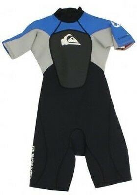 QUIKSILVER SYNCRO S/S SPRINGSUIT youth size 2 new NWT