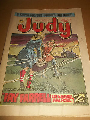 JUDY ~ COMIC NO. 1231 AUGUST 13th 1983 VERY GOOD CONDITION