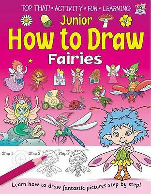 Junior How To Draw Fairies __ Nuevo __ Envío Gratis En Ru
