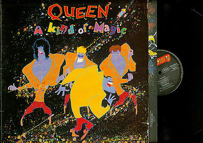 Lp--Queen A Kind Of Magic // Foc//Ois //1985 //2405311