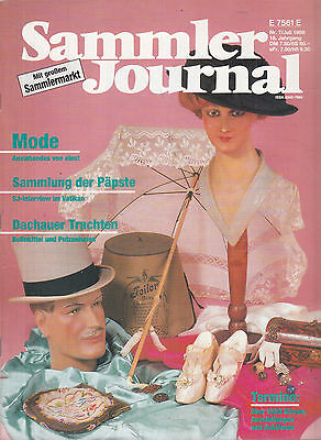 Sammler Journal Nr. 7 1989 / Mode