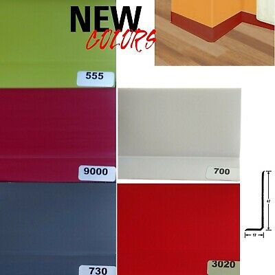 soft PVC Skirting Profile Kink Plastic Skirting boards 47x17 mm Meterware