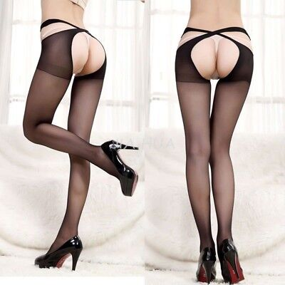 Hot Sexy Lady Lace Thigh-Highs Stockings Socks Seperate Garter Belt Suspender