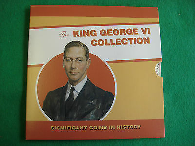 King George Vi Silver Collection Royal Mint Sealed Presentation Pack