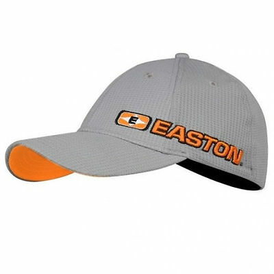 Easton Gray Hat with Orange Logo Large/X-Large 023025|SL