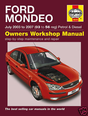 07-61 Manuale di Officina 5548 Haynes Ford Mondeo APR 2007-2012