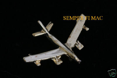 Us Air Force B-47 Stratojet Gold Hat Lapel Pin Tie Tac Afb Wing Pilot Crew Gift