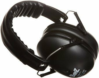 NEW Baby Banz earBanZ Kids Hearing Protection Black FREE SHIPPING