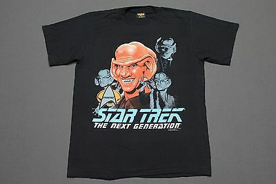 L * NOS vtg 90s 1991 FERENGI Star Trek the next generation t shirt * 67.98