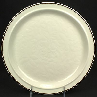 Royal Doulton Ting Brown Dinner Plate FLAWS B