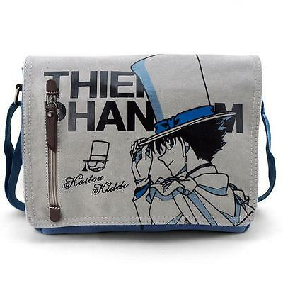 Neu Detective Conan Anime Segel canvas Messenger Tasche Bag 33x26x7CM A4