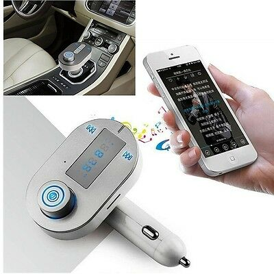 Bluetooth FM Transmitter Adapter Kit Support Music Control and HandsFree Calling