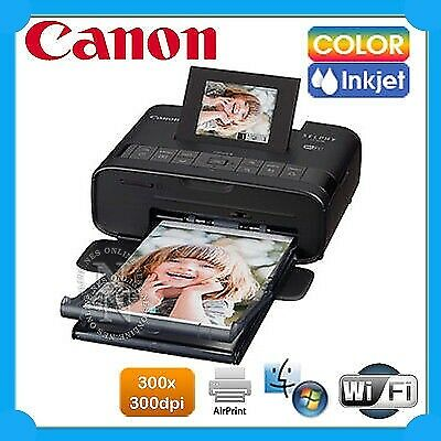 Canon SELPHY CP1200-BK Wireless Compact Photo Printer+WiFi Direct Print+AirPrint
