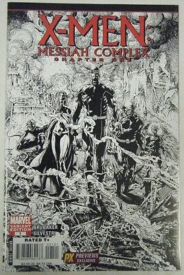 X-MEN: MESSIAH COMPLEX CHAPTER 1 ~ Previews Sketch Variant Cover ~ Marvel, 2007
