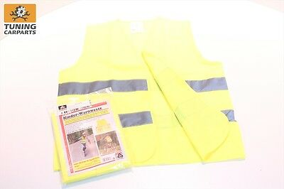 safety - warning vest for children - safe protection on the Way to school EN1150
