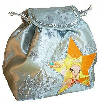 Winx Club - Kids Backpack Silver Metallic Stella 23 x 28 x 13 cm