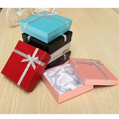 12/24x Jewellery Gift Boxes Bag Bracelet Necklace Pendant Earring Storage Case