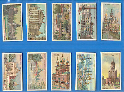 Gems Of Russian Architecture.10 Cigarette Cards Issued By Wills In 1917