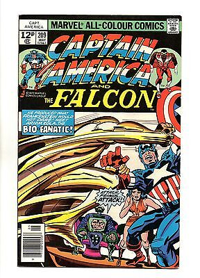 Captain America Vol 1 No 209 May 1977 (VFN+ to NM-) Bronze Age, Jack Kirby art
