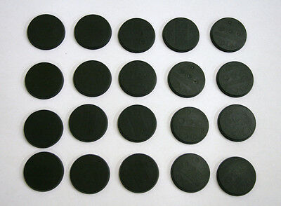 30mm Round bases,unslotted, for warhammer GW type figs