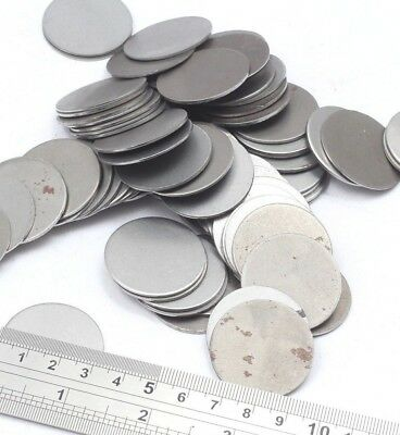 40mm Dia Mild Steel Blank Round Discs Clearance Bargain Old Stock Bargain Price