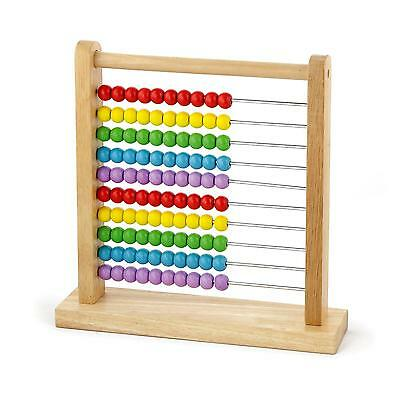 New Childrens Kids Wooden Bead Abacus Counting Maths Educational Numbers Toy