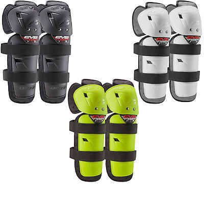 EVS Option Adult Motocross Knee Guards MX Enduro Pads Protection Pair GhostBikes