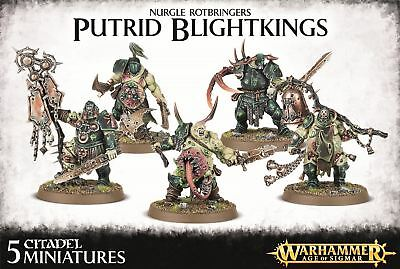 Nurgle Rotbringers - Putrid Blightkings  Warhammer Age of Sigmar Games Workshop