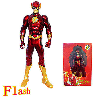 DC Comics Justice League Heroes The Flash STATUE 1/10 Action Figure Kid's toy
