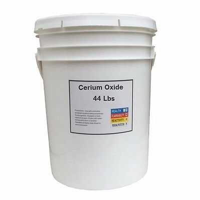 Cerium Oxide High Grade Polishing Powder - 44 Lbs Bucket