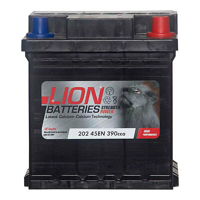 Type 202 390CCA 3 Years Warranty OEM Replacement Lion Batteries Car Battery 40Ah