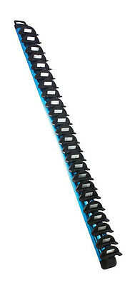 EZ Red WR2400B 24 Piece Blue Magnetic Wrench Rack