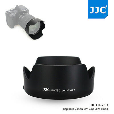 JJC Lens Hood Replace Canon EW-73D for CANON EF-S 18-135mm f/3.5-5.6 IS USM Lens