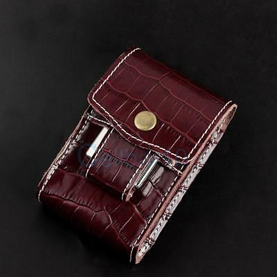 New Unique Waist Cigarette Case Pouch With Lighter Holder For King Size&100's