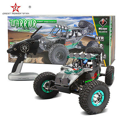 WLtoys K949 2.4GHZ 1/10 4WD RTR RC Racing Climb Car Truck Off-road Vehicle Buggy