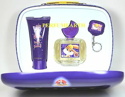 Lola Bunny By Looney Tunes 2 Pcs Set With 3.4oz. Edt Spray For Kids New In Box