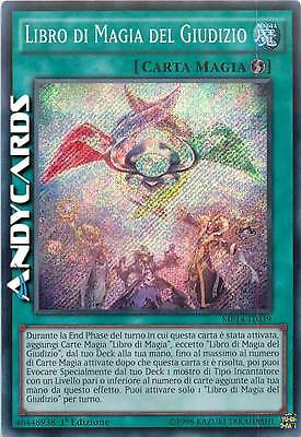 Libro di Magia del Giudizio ☻ Segreta ☻ MP14 IT039 ☻ YUGIOH ANDYCARDS