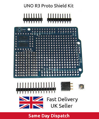 Arduino UNO Prototyping Prototype Proto Shield rev 3.1 ProtoShield kit, UK FAST