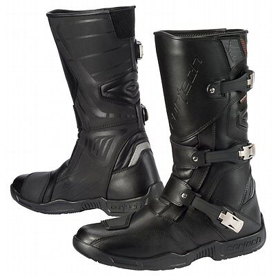 Cortech Accelerator XC Adventure Dual Sport Motorcycle Boots-See Sizes-Black